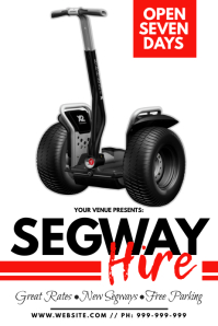 Segway Hire Poster