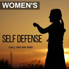 SELF DEFENSE CLASSES AD