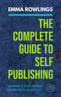 Self publishing guide kindle book cover template