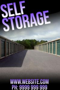 self storage Poster template