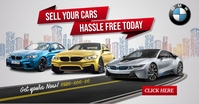 Sell your cars Isithombe Esabiwe ku-Facebook template