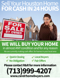 Sell Your Home Pamflet (VSA Brief) template