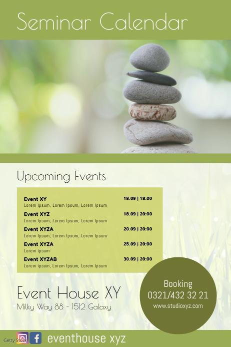 Seminar Calendar Upcoming Events Workshops ad