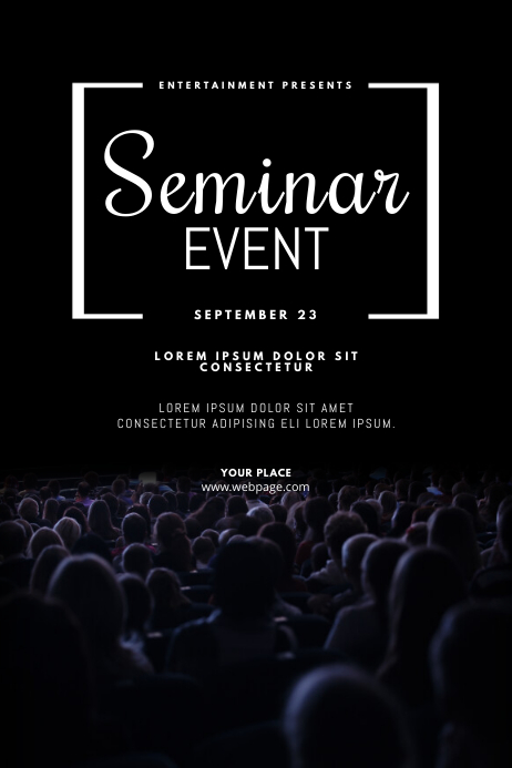 Seminar Conference Event Flyer Design