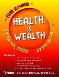 Seminar - Health is Wealth
