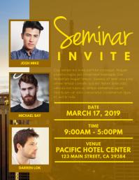 Seminar Invite Flyer