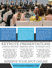Seminar Metting Corporate Flyer Template
