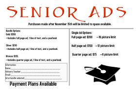 Senior Ad Flyer