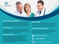 Senior Care & Services Presentation template