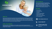 Senior Care & Services Twitter 帖子 template