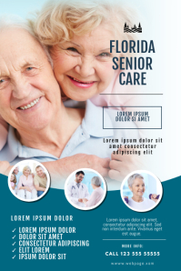 Senior Care Company Flyer Template