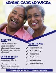 Senior Care Flyer (US Letter) template