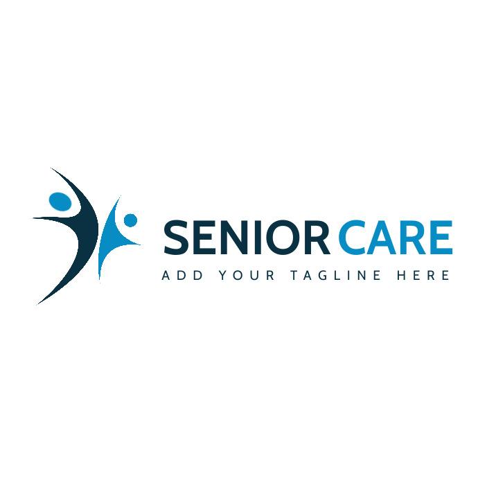 senior care logo template transparent backgro Logotipo