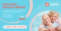 Senior Elder Care Service Facebook Shared Image template