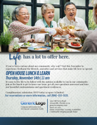 Senior Lunch and Learn