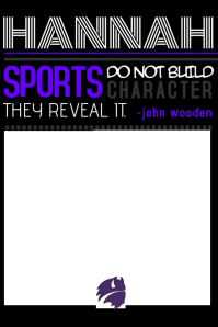 Senior Sports Flyer