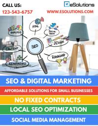 SEO & Digital Marketing Services Flyer