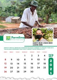 September 2021 Calendar Template A2