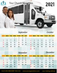 September-December, 2021 Poster/Wallboard template