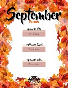 September/Fall Events