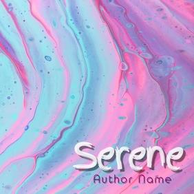 Serene Album Art Обложка альбома template