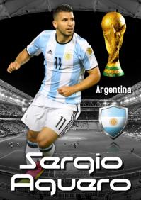 Sergio Aguero Poster