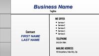 Service Business Cards Kartu Bisnis template