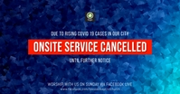 service cancelled Facebook Shared Image template