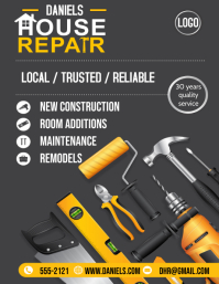 HANDYMAN Flyer (US Letter) template