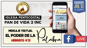 Servicio Virtual Twitter Post template