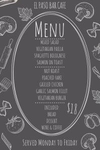 Set Menu Template