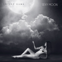 Sexy Moon Mixtape/Album Cover Art Template