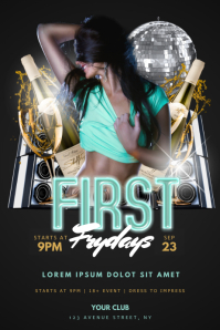 Sexy First Fridays Flyer Template