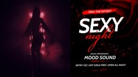 Sexy Night Party Facebook Video template