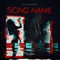 sexy rap mixtape cover art design template Okładka albumu