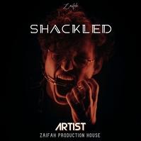 Shackled album cover design template Pochette d'album