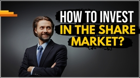 Share market Youtube thumbnail