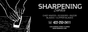 Sharpening Service promo ad template