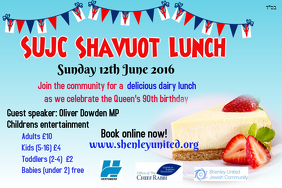 Shavuot Queen's birthday community lunch