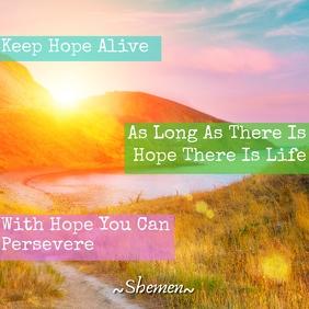 Shemen Inspirational -Hope Template 3