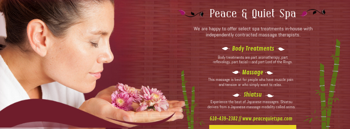 Shiatsu Body Massage Spa Banner