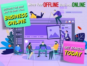 Shift business online