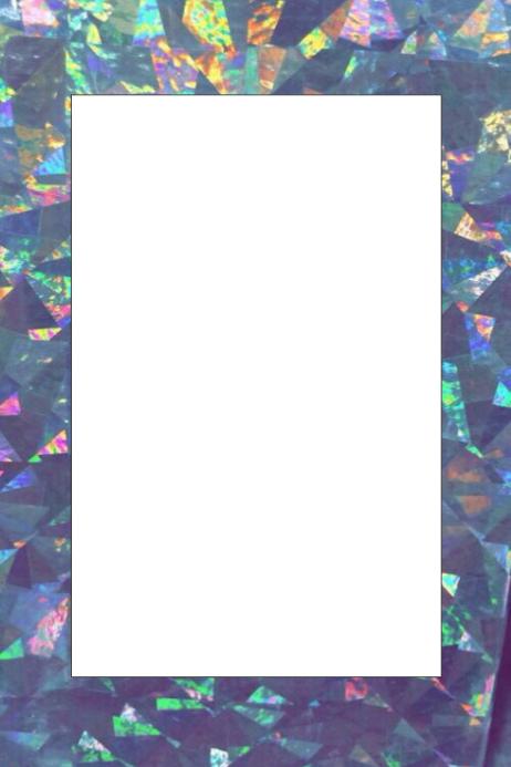 Shimmer Party Prop Frame
