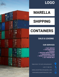 SHIPPING CONTAINER FLYER