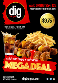 Shish and Chips deal Poster