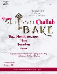Shlissel Challah Bake Flyer