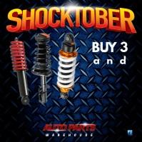 Shocktober advert Square (1:1) template