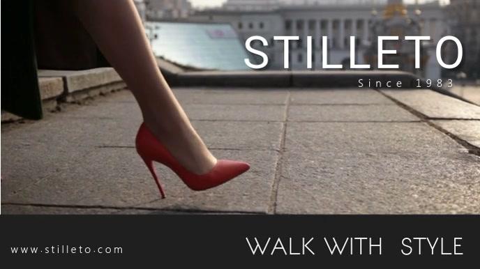 Shoe Branding Video Display Template