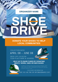 Shoe Drive Flyer A4 template