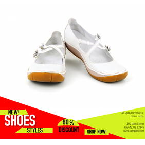 Customizable Design Templates for Shoes   PosterMyWall
